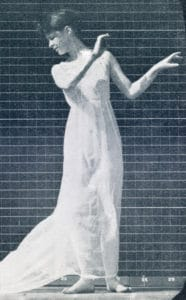 The Human Figure in Motion: Selected single shot of a dancing woman