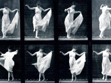 Tanzendes Mädchen. Eine Pirouette (I)